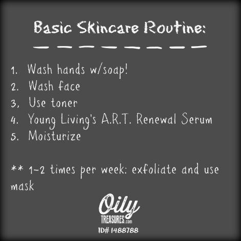 basic skincare routine